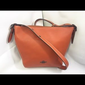 Coach XBODY Leather Dufflette. Very Lightly Used.